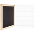 Black Felt Letter Board With White Letters - 11 3/4